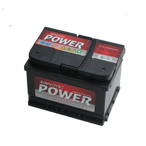 Electric Power 12V 55Ah 450A Jobb+ autó akkumulátor