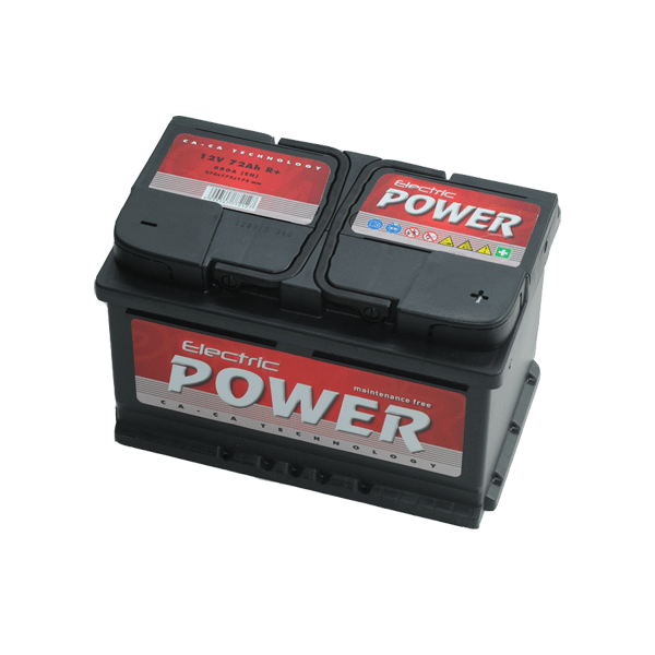 Electric Power 12V 72Ah 680A Jobb+ autó akkumulátor