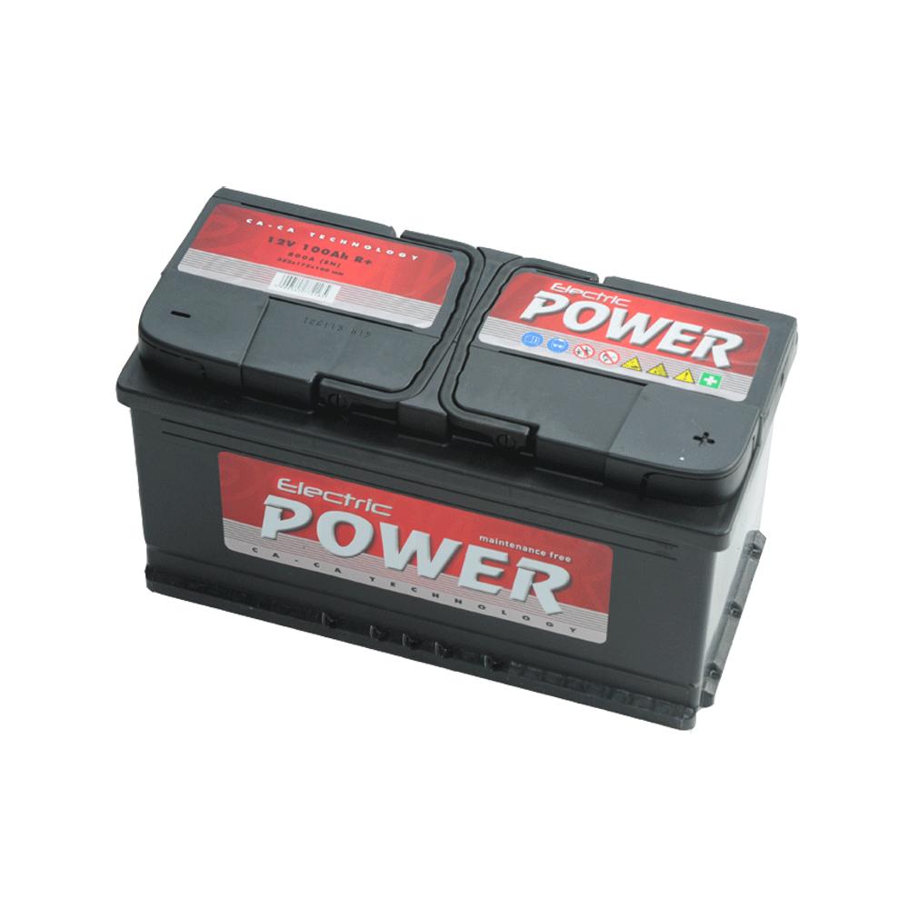 Electric Power 12V 100Ah 800A Jobb+ autó akkumulátor