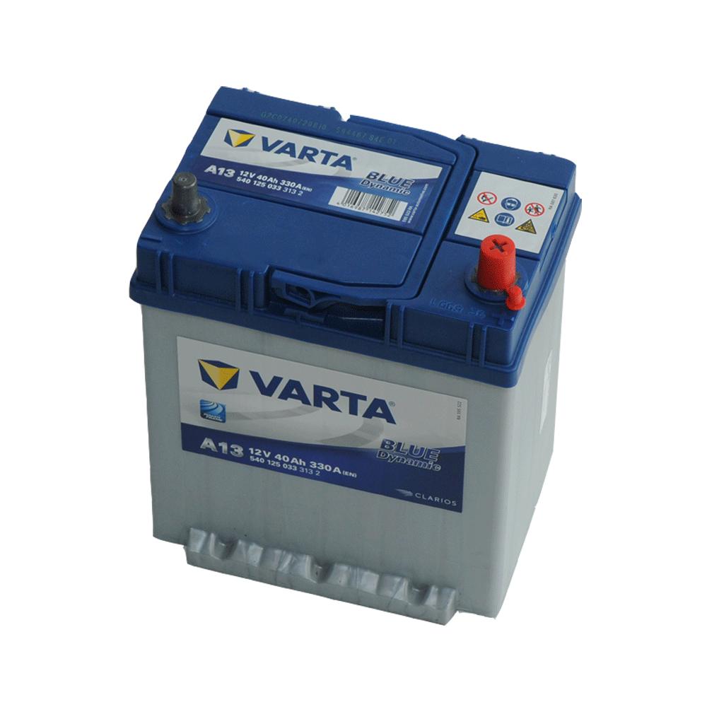 Varta 12V 40Ah 330A Jobb+ autó akkumulátor