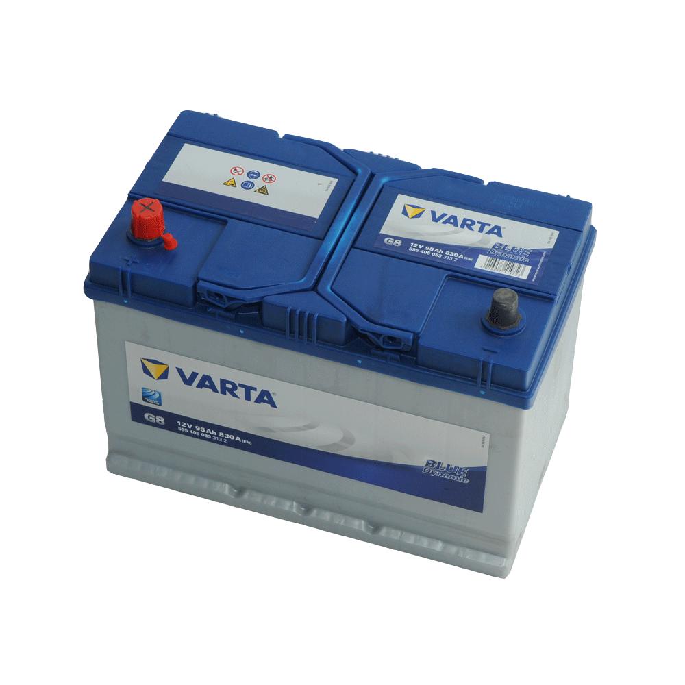 Varta 12V 95Ah 830A Bal+ autó akkumulátor