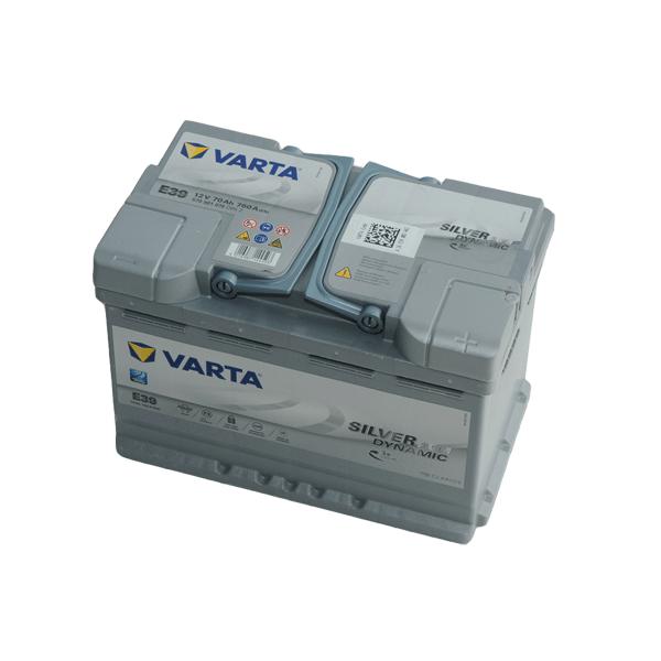 Varta 12V 70Ah 760A Jobb+ autó akkumulátor