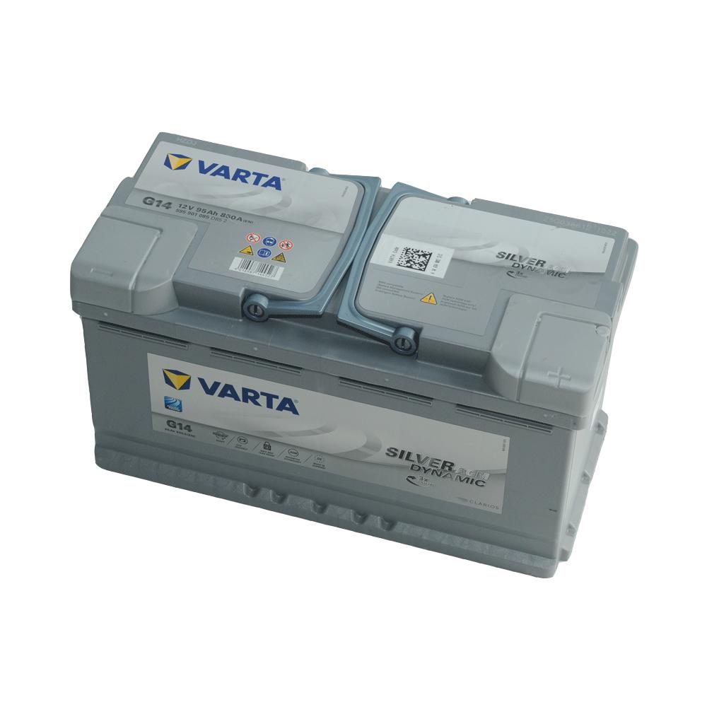 Varta 12V 95Ah 850A Jobb+ autó akkumulátor