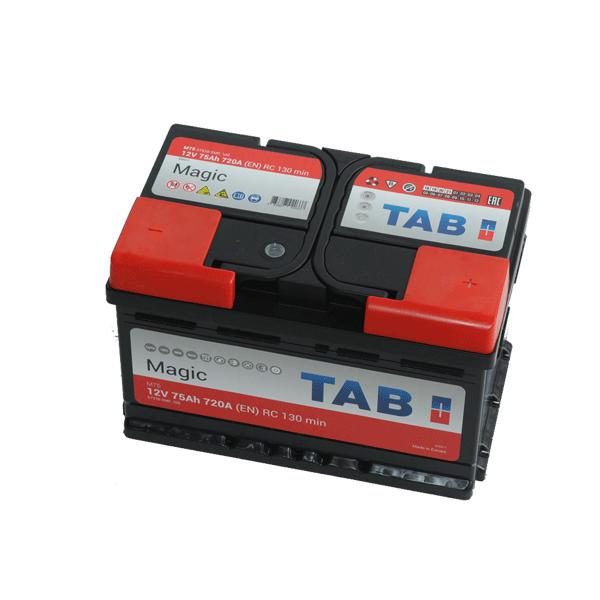 TAB Magic 12V 75Ah 720A Jobb+ autó akkumulátor