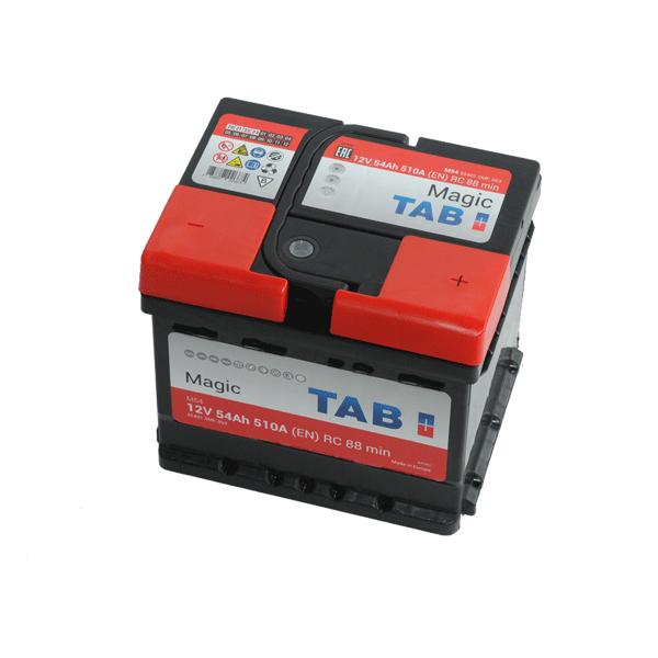 TAB Magic 12V 55Ah 5100A Jobb+ autó akkumulátor