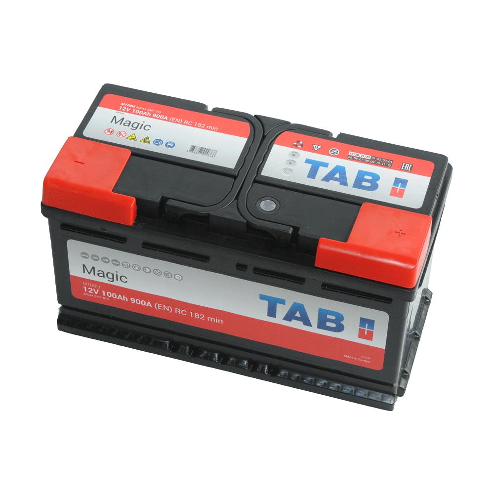 TAB Magic 12V 100Ah 900A Jobb+ autó akkumulátor
