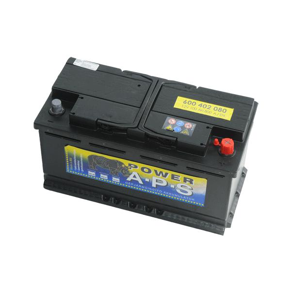 APS 12V 100Ah 800A Jobb+ autó akkumulátor