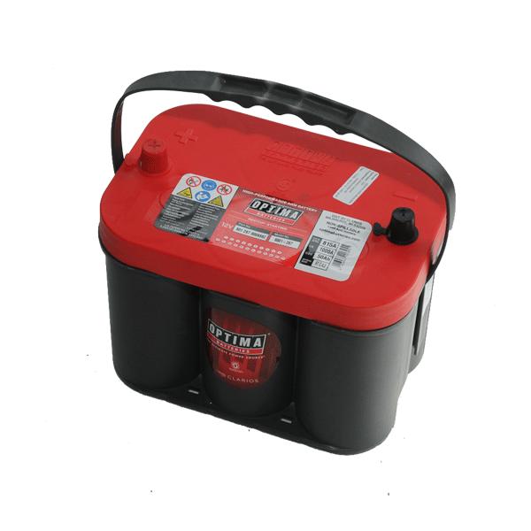 Optima 12V 50Ah 815A Bal+ spirálcellás akkumulátor