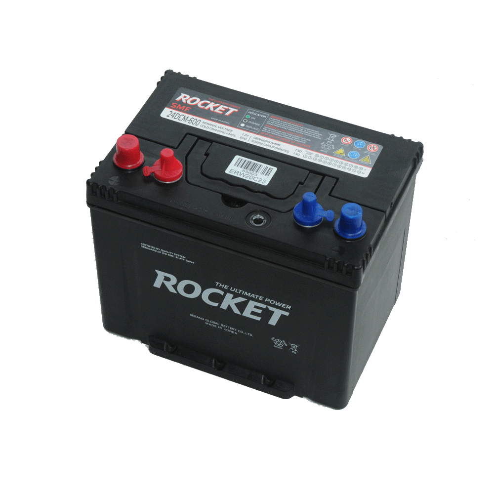 Rocket 12V 80Ah 680A Bal+ munka- vagy meghajtó akkumulátor