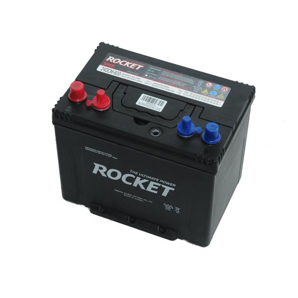 Rocket 12V 80Ah 600A Bal+ munka- vagy meghajtó akkumulátor